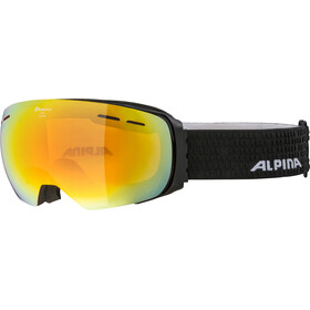 Alpina Granby HM Gogle, black matt/red